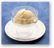 plain vanilla ice cream